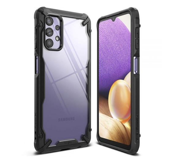 Ringke Fusion X do Samsung Galaxy A32 5G czarny - 643145 - zdjęcie