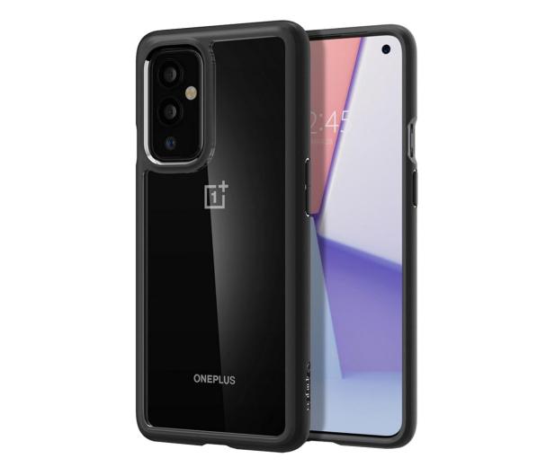 Spigen Ultra Hybrid do OnePlus 9 Pro czarny - 642156 - zdjęcie