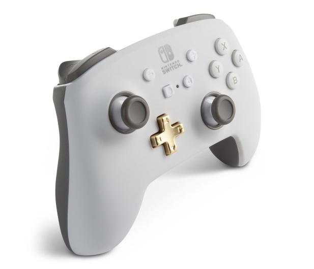 PowerA SWITCH Pad bezprzewodowy Enhanced - Biały - 642509 - zdjęcie 4