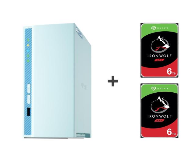 QNAP TS-230 12TB (2xHDD, 4x1.4GHz, 2GB, 3xUSB, 1xLAN) - 647780 - zdjęcie