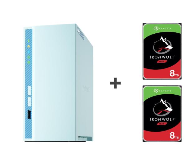 QNAP TS-230 16TB (2xHDD, 4x1.4GHz, 2GB, 3xUSB, 1xLAN) - 647781 - zdjęcie