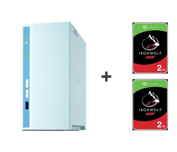 QNAP TS-230 4TB (2xHDD, 4x1.4GHz, 2GB, 3xUSB, 1xLAN) - 647777 - zdjęcie