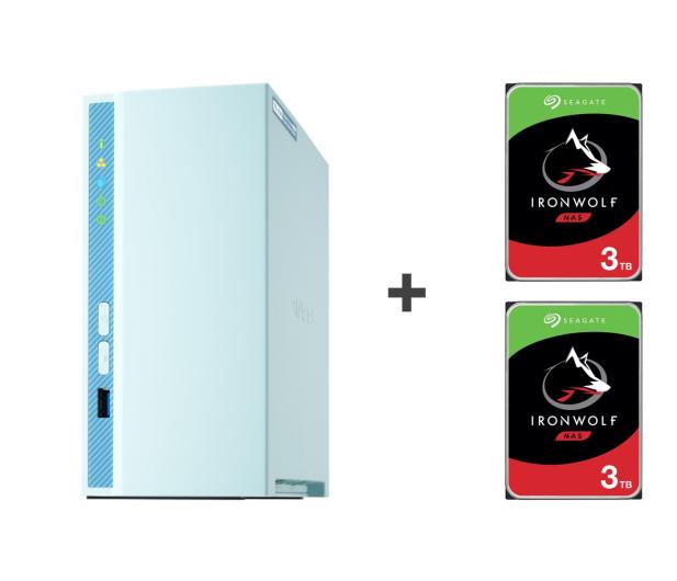 QNAP TS-230 6TB (2xHDD, 4x1.4GHz, 2GB, 3xUSB, 1xLAN) - 647778 - zdjęcie