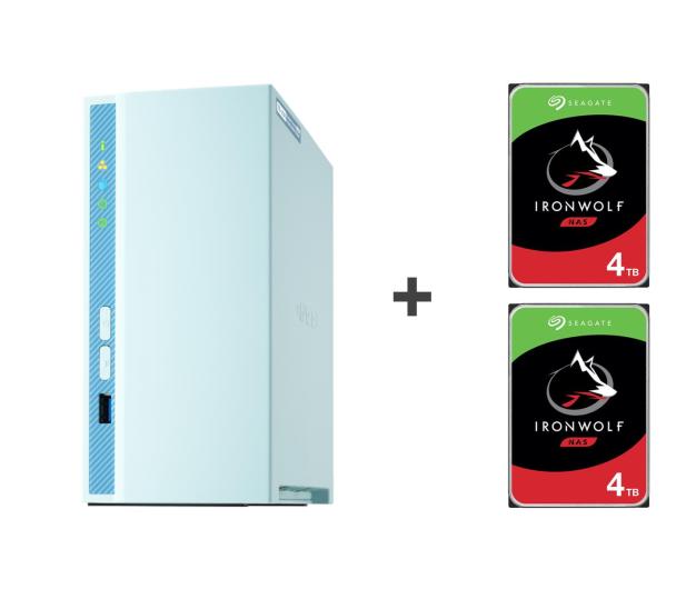 QNAP TS-230 8TB (2xHDD, 4x1.4GHz, 2GB, 3xUSB, 1xLAN) - 647779 - zdjęcie