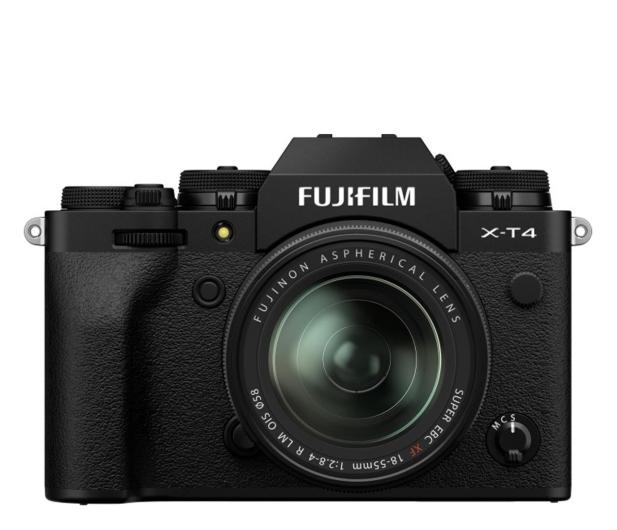 Fujifilm X-T4 + 18-55mm czarny - 636599 - zdjęcie