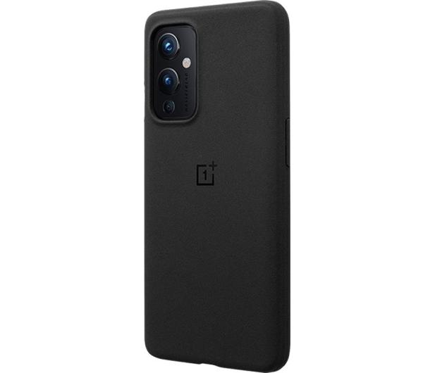 OnePlus Sandstone Bumper Case do OnePlus 9 czarny - 646319 - zdjęcie 2