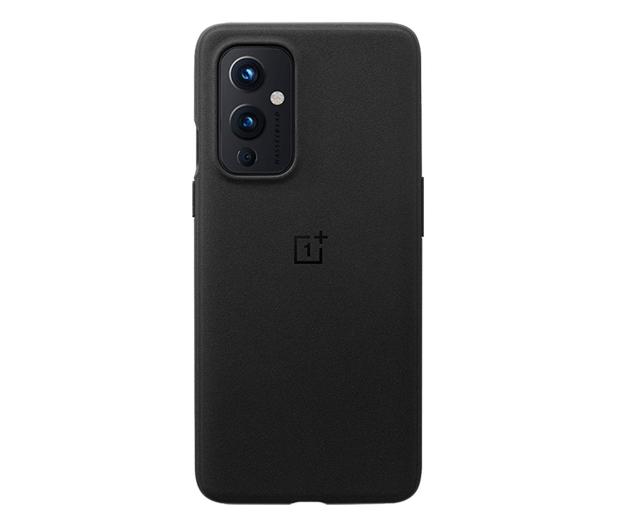 OnePlus Sandstone Bumper Case do OnePlus 9 czarny - 646319 - zdjęcie
