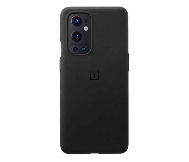 OnePlus Sandstone Bumper Case do OnePlus 9 Pro czarny - 646312 - zdjęcie