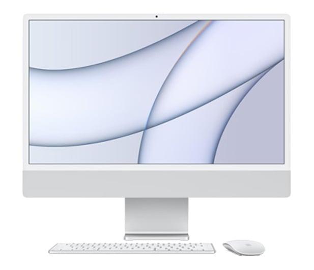 Apple iMac 24 M1/8GB/512/MacOS Retina 4,5K Silver - 648873 - zdjęcie