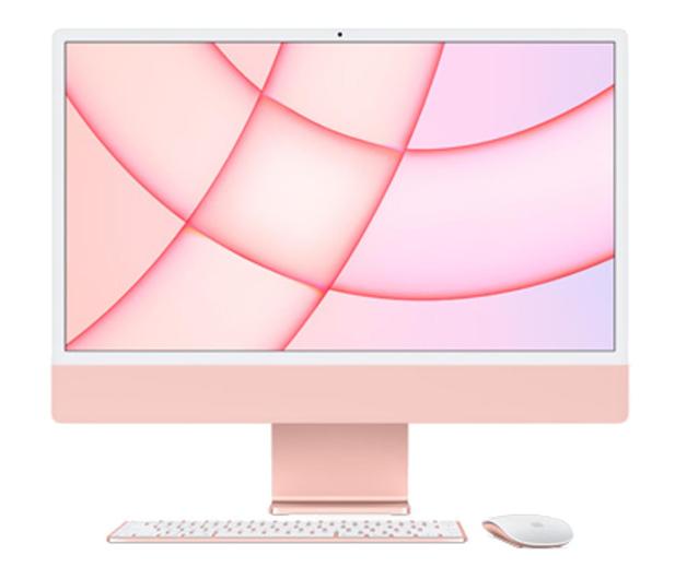 Apple iMac 24 M1/8GB/512/MacOS Retina 4,5K Pink - 648878 - zdjęcie