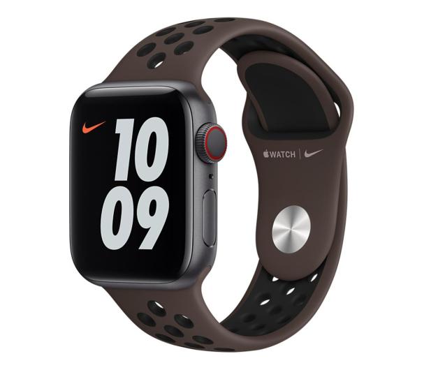 Apple Pasek Sportowy Nike do Apple Watch Iron / Black - 648817 - zdjęcie