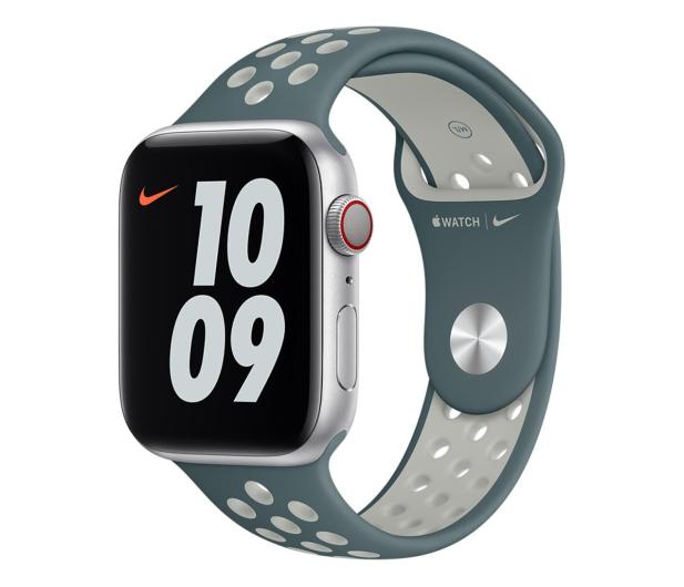 Apple Pasek Sportowy Nike do Apple Watch Hasta / Silver - 648818 - zdjęcie