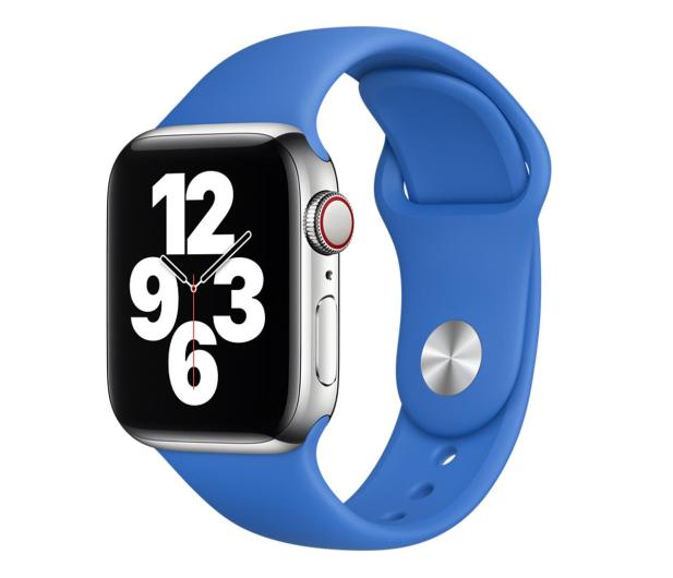 Apple Pasek Sportowy do Apple Watch adriatycki błękit - 648831 - zdjęcie