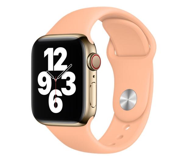 Apple Pasek Sportowy do Apple Watch melonowy - 648832 - zdjęcie