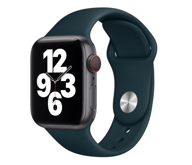 Apple Pasek Sportowy do Apple Watch malachitowy - 648833 - zdjęcie