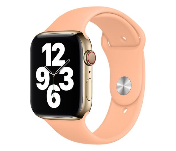 Apple Pasek Sportowy do Apple Watch melonowy - 648835 - zdjęcie