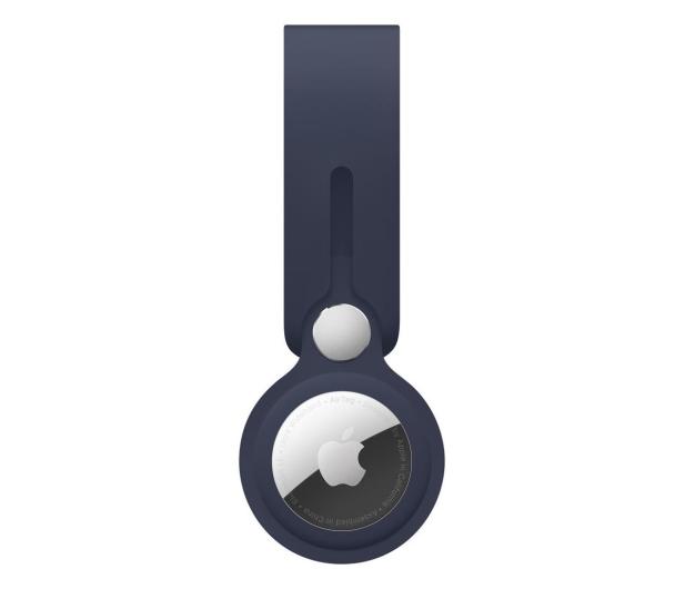 Apple Pasek do AirTag głęboki granat - 648808 - zdjęcie