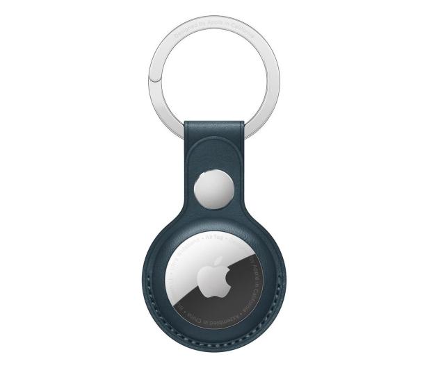Apple Skórzany brelok do AirTag bałtycki błękit - 648803 - zdjęcie