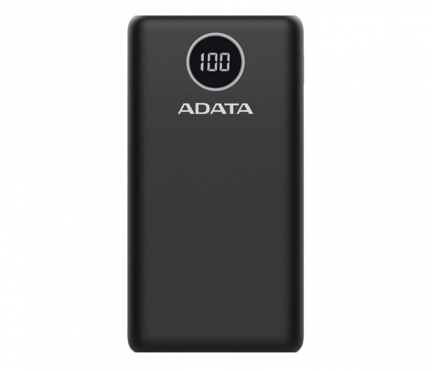 ADATA Power Bank P20000QCD 20000mAh czarny - 645542 - zdjęcie