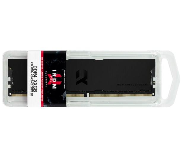 GOODRAM 16GB (2x8GB) 3600MHz CL18 IRDM PRO Deep Black - 647614 - zdjęcie 4