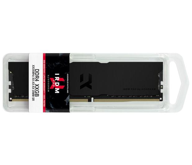 GOODRAM 32GB (2x16GB) 3600MHz CL18 IRDM PRO Deep Black - 647620 - zdjęcie 4