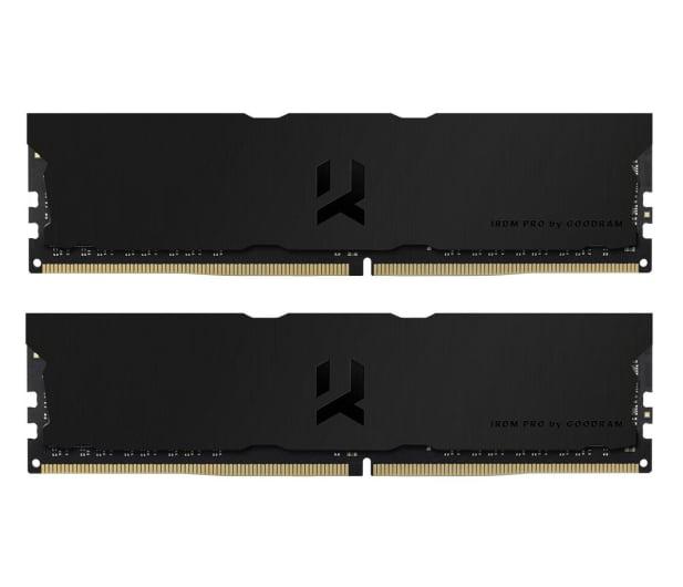 GOODRAM 32GB (2x16GB) 3600MHz CL18 IRDM PRO Deep Black - 647620 - zdjęcie