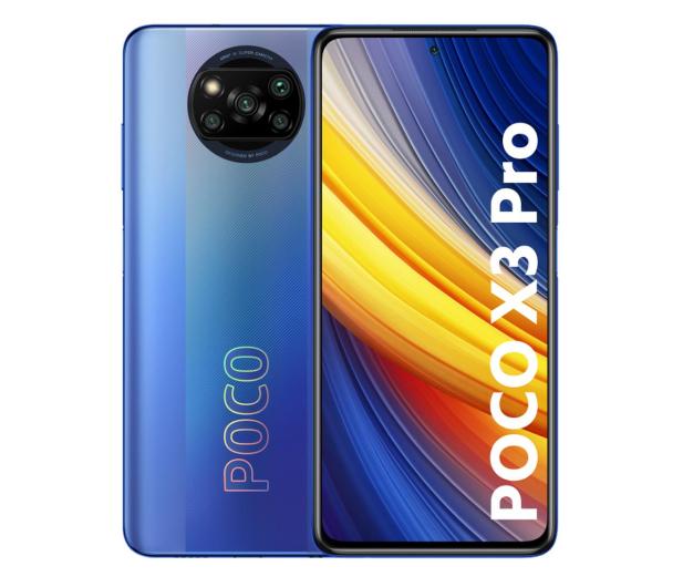 Xiaomi POCO X3 PRO NFC 8/256GB Frost Blue - 645704 - zdjęcie