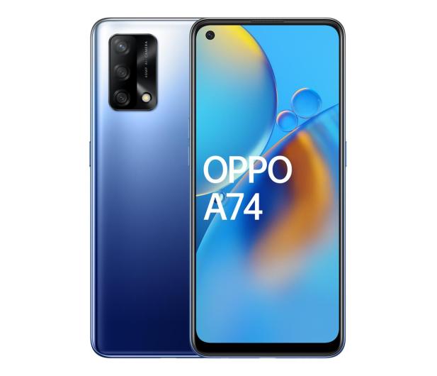 OPPO A74 4/128GB Midnight Blue - 650222 - zdjęcie