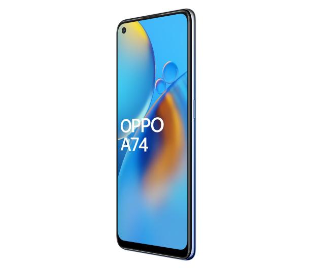 OPPO A74 4/128GB Midnight Blue - 650222 - zdjęcie 2