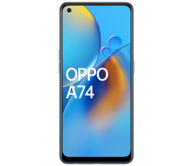 OPPO A74 4/128GB Midnight Blue - 650222 - zdjęcie 3