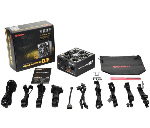 Enermax Revolution DF 750W 80 Plus Gold - 647686 - zdjęcie 7