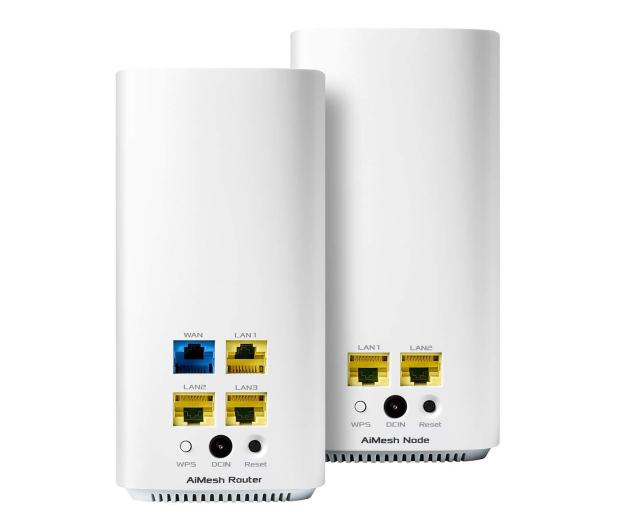 ASUS ZenWiFi AC CD6 MESH  (1500Mb/s a/b/g/n/ac) 2xAP - 598298 - zdjęcie 4