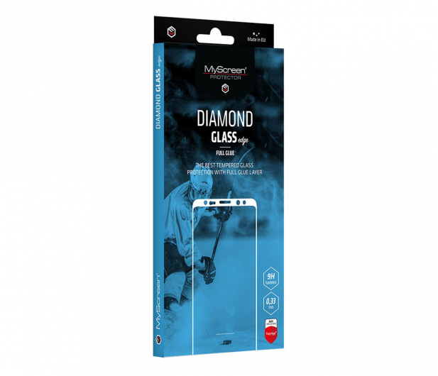 MyScreen DIAMOND GLASS edge Full Glue do iPhone 12 Pro Max - 646185 - zdjęcie