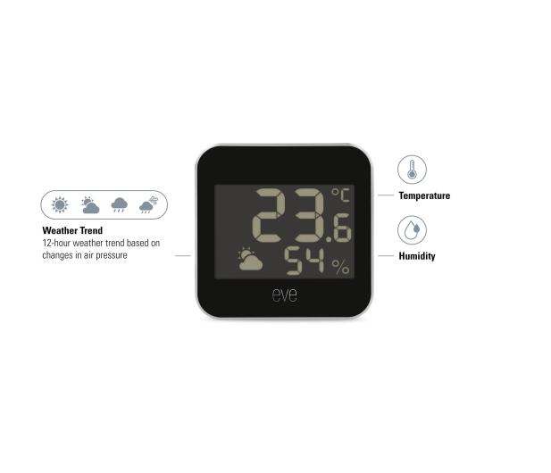 EVE Weather monitor temperatury i wilgotności - 651431 - zdjęcie 3