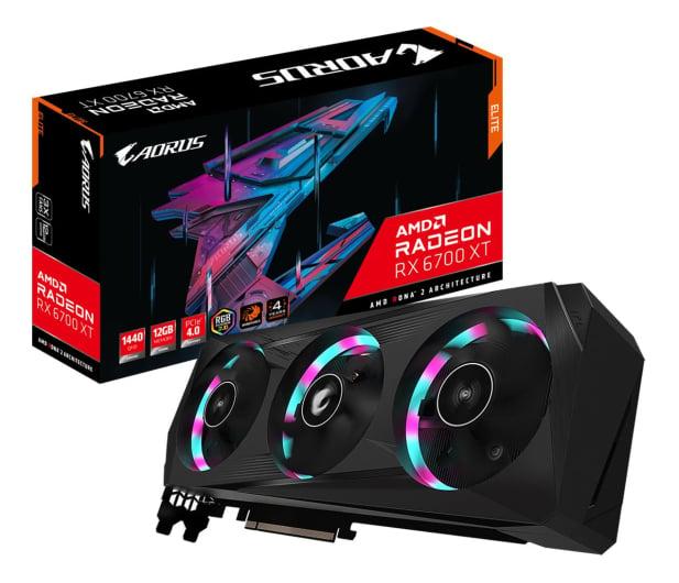 Gigabyte Radeon RX 6700 XT AORUS ELITE 12GB GDDR6 - 644896 - zdjęcie