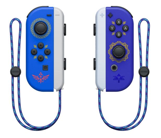 Nintendo Joy-Con Controller - Hylian Shield & Master Sword - 639518 - zdjęcie