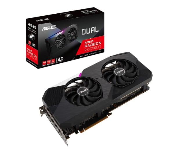 ASUS Radeon RX 6700 XT DUAL 12GB GDDR6 - 643938 - zdjęcie