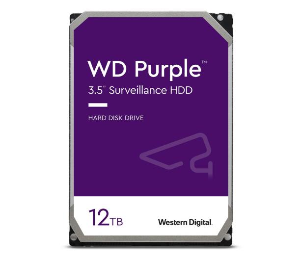 WD PURPLE 12TB 7200obr. 256MB CMR - 438430 - zdjęcie