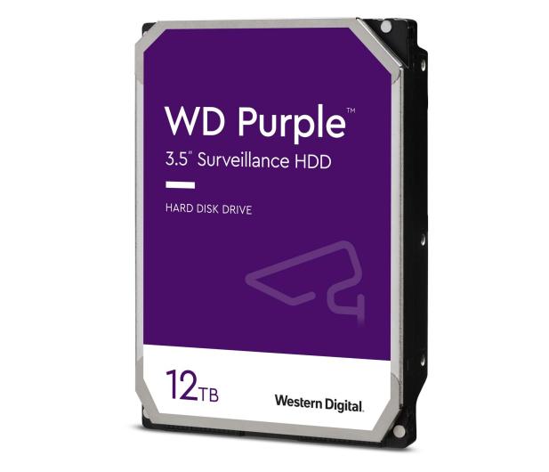 WD PURPLE 12TB 7200obr. 256MB CMR - 438430 - zdjęcie 2