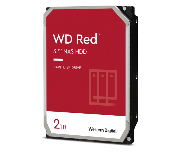 WD RED 2TB 5400obr. 256MB DM-SMR - 534071 - zdjęcie 2