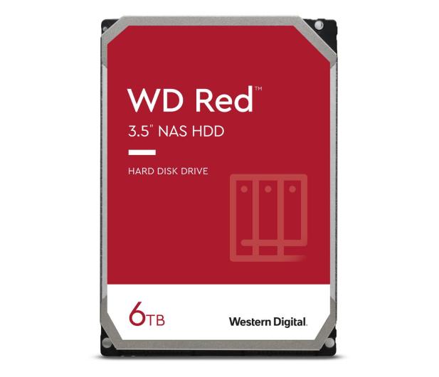 WD RED 6TB 5400obr. 256MB DM-SMR - 204016 - zdjęcie