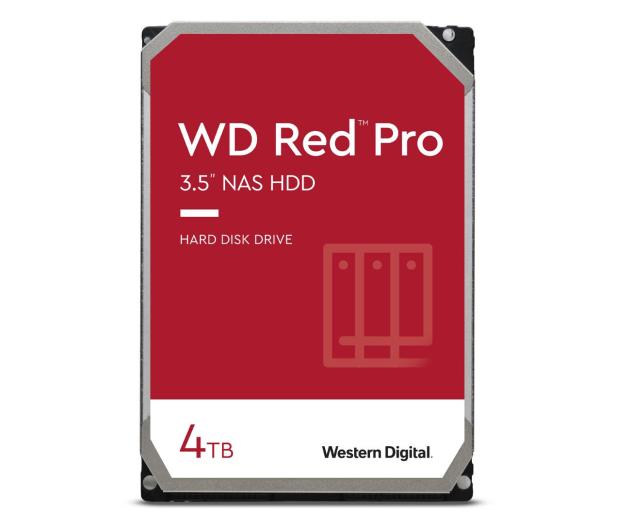 WD RED PRO 4TB 7200obr. 256MB CMR - 424242 - zdjęcie