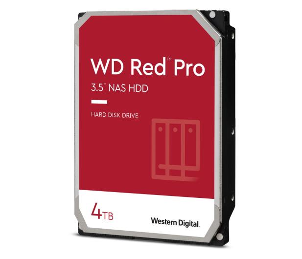 WD RED PRO 4TB 7200obr. 256MB CMR - 424242 - zdjęcie 2
