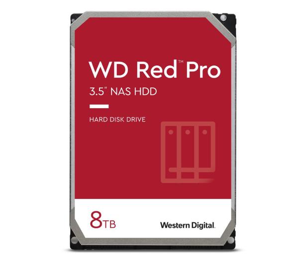 WD RED PRO 8TB 7200obr. 256MB CMR - 429612 - zdjęcie