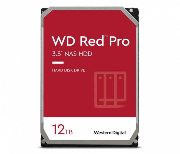 WD RED PRO 12TB 7200obr. 256MB CMR - 582653 - zdjęcie