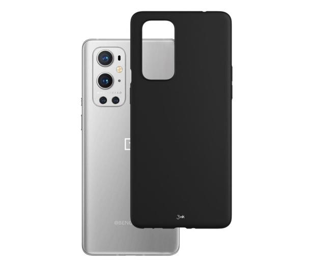 3mk Matt Case do OnePlus 9 czarny - 641681 - zdjęcie
