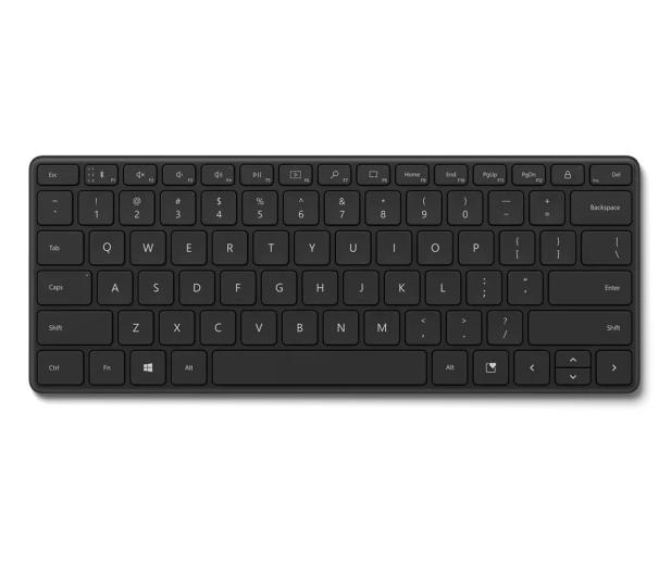 Microsoft Bluetooth Compact Keyboard Black - 647760 - zdjęcie