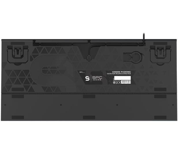 SPC Gear GK650K Omnis Kailh Blue RGB Pudding Edition - 653297 - zdjęcie 6