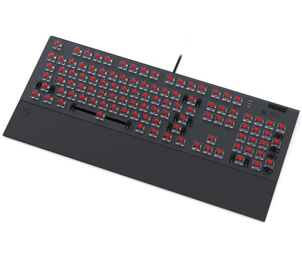 SPC Gear GK650K Omnis Kailh Red RGB Pudding Edition  - 653301 - zdjęcie 4