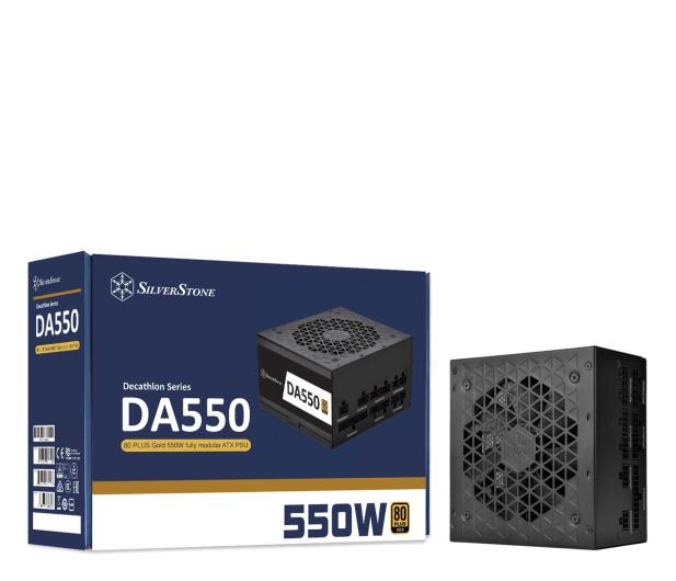SilverStone DA550 550W 80 Plus Gold - 648162 - zdjęcie